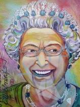 Queen Elizabeth Retro