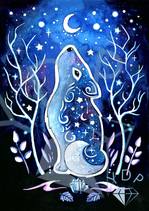 Rune and stars