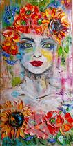 Lady mit Blumenkranz (groß)