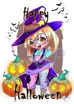 Happy Halloween Chibi
