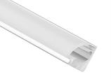 Aluminiumprofil Viertelkreis 8x8mm