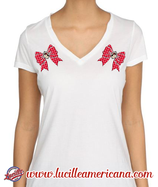 T-Shirt Red Bow