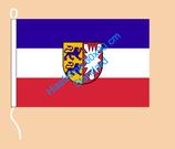 Schleswig-Holstein / Hißfahne im Querformat