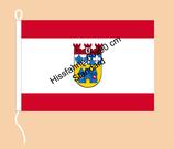 Charlottenburg-Wilmersdorf / Hißfahne im Querformat