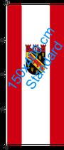 Reinickendorf / Hißfahne im Hochformat