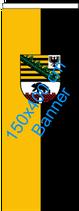 Sachsen-Anhalt / Bannerfahne