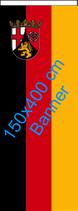 Rheinland-Pfalz / Bannerfahne