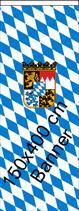 Bayern Raute-Wappen / Bannerfahne