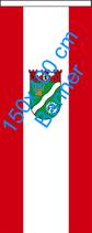 Marzahn-Hellersdorf / Bannerfahne