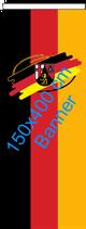 Rheinland-Pfalz (Bürgerwappen) / Bannerfahne
