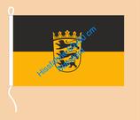 Baden-Württemberg / Hißfahne im Querformat