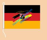 Rheinland-Pfalz (Bürgerwappen) / Hißfahne im Querformat