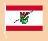 Marzahn-Hellersdorf / Hißfahne im Querformat