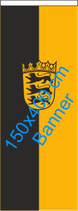 Baden-Württemberg / Bannerfahne