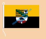 Sachsen-Anhalt / Hißfahne im Querformat