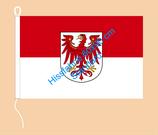 Brandenburg / Hißfahne im Querformat