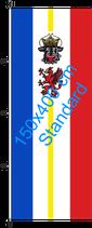 Mecklenburg-Vorpommern / Hißfahne im Hochformat