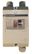 Motorschutzschalter 2-4A in Gehäuse IP56 (verwendbar bei mehrern Lüfter)