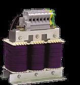 Ausgangsdrossel 3x500V/10A IP66 für störungsfreien Betrieb.