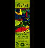 Rice Choc 40% Cacao (Vivani)