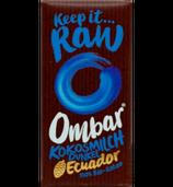 Kokosmilch Dunkel Schokoladentäfelchen (Ombar)