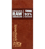 Organic Raw Chocolate 93% Kakao (lovechock)