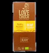 Organic Raw Chocolate Mandel / Maulbeere (lovechock)