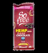 Hanf-Schokolade (72 %) (Plamil Foods)