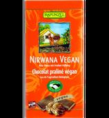 Nirwana Reismilchschokolade mit Praliné - Füllung (Rapunzel)