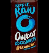 Kokosmilch Schokoladentäfelchen (Ombar)