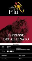 Espresso Entkoffiniert