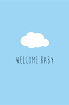 Welcome Baby - Blauw
