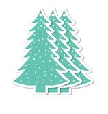 Kerst Gifttag Kerstboom