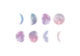 Watercolour Moon