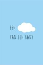 Een wolk van een baby - blauw