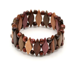 Bracelet bois multicolore Sandra