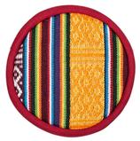 Coussin pour bol chantant tibétain design tribal 15916