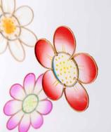 Blumen-Mobile