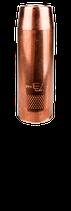 Gasdüse konisch NW 16 mm geschraubt L=75,5 mm