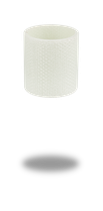 Spritzschutz Glasfaser weiss