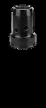 Gasverteiler Duroplast schwarz
