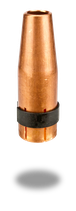 Gasdüse stark konisch NW 10 mm L=63,5 mm