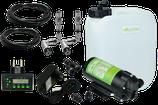 """Kit de sistema de riego Uni-Line 2 boquillas, temporizador, tanque"""