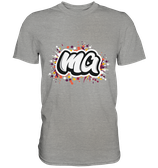 """""""ma"""" T-Shirt grau"""