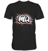 """ma"" T-Shirt schwarz"