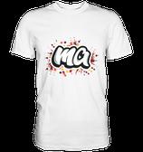"""""""ma"""" T-Shirt weiß"""