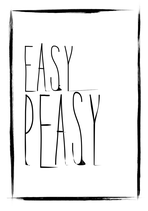 Poster -Easy Peasy-