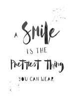 Poster -A Smile-