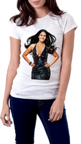Damen T-Shirt  JOSYE SANTOS ACTRESS und MODEL