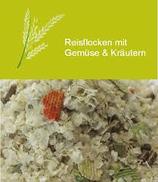 Flocons de riz aux légumes et aux herbes